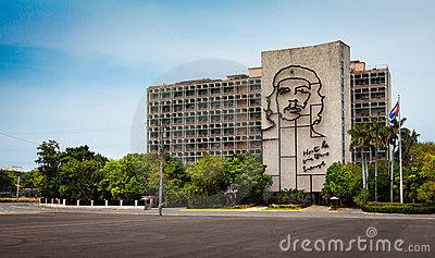 Monument to Che Guevara Revolution Editorial Photo