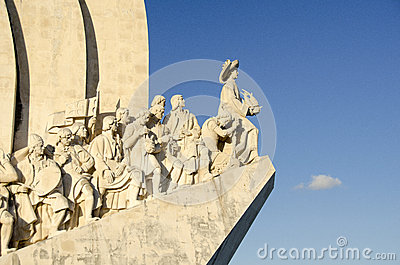 Monument to the Discoveries, Lisbon Editorial Stock Image