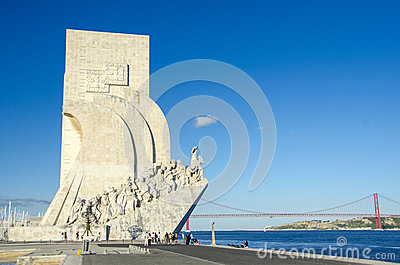 Monument to the Discoveries, Lisbon Editorial Photography
