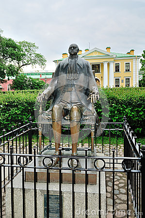 Free Monument To Emperor Peter The Great In The Peter And Paul Fortress In Saint-Petersburg, Russia Stock Photos - 56789203