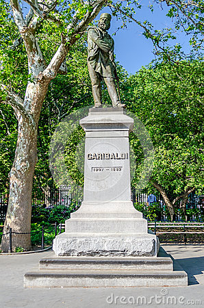 Monument to Garibaldi, New York