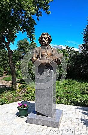 Monument to Liberov.