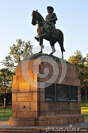 Monument to Louis Botha by Union Buildings, Pretoria
