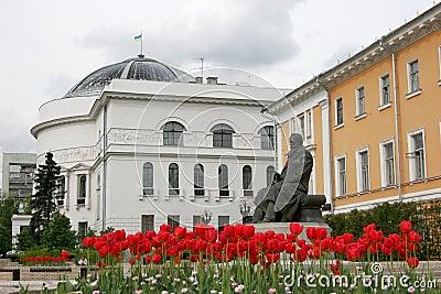 Monument to Myhaylo Grushevskyj