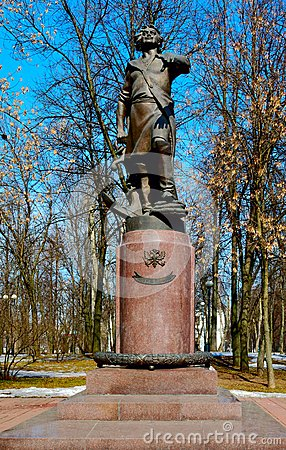 Monument to Peter the Great in Izmailovo