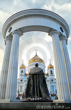 Free Monument To Russian Emperor Alexander II Stock Photography - 119044452
