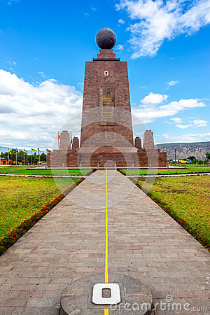Free Monument To The Equator Royalty Free Stock Images - 49437239