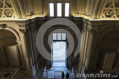 Monument to Vittorio Emanuele II in Rome, Italy. Editorial Image