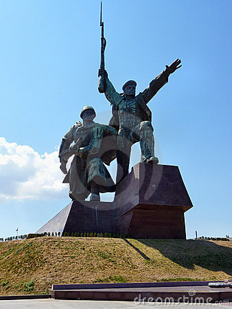 Monument to war