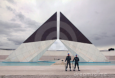 Monument to war heroes Editorial Photo