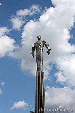Free Monument To Yuri Gagarin Royalty Free Stock Images - 7674549