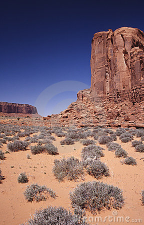 Free Monument Valley Royalty Free Stock Image - 466116