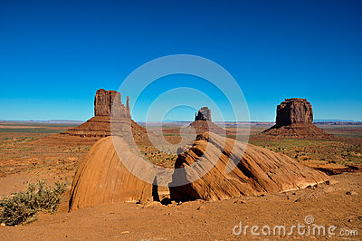 Monument Valley in Arizona, USA