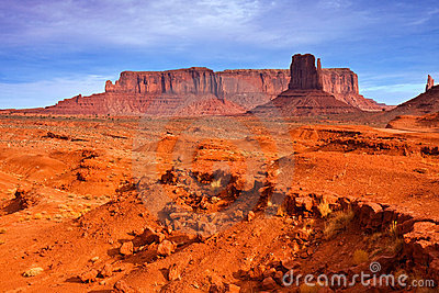 Monument Valley Desert