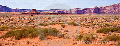 Monument Valley Desert Panorama
