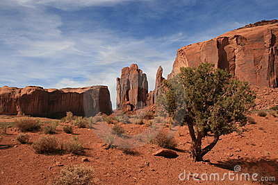 Monument Valley landscape