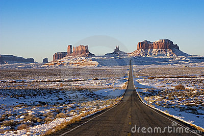 Monument Valley Navajo Indian Tribal Park Approach