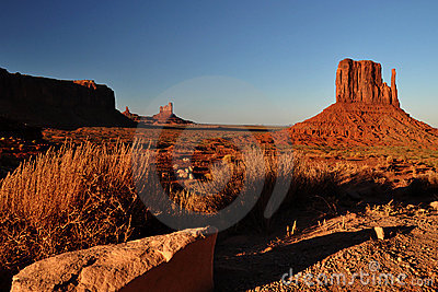 Monument Valley Navajo Indian Tribal Park Panorama
