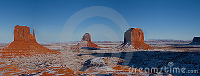 Monument Valley Navajo Indian Tribal Park, Winter