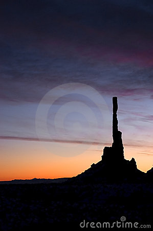 Free Monument Valley Navajo Tribal Park Totem Pole Stock Photos - 12351893