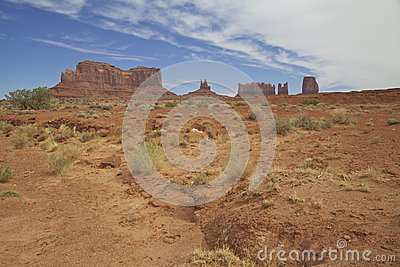 Monument Valley Scene