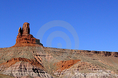 Monument Valley Striations