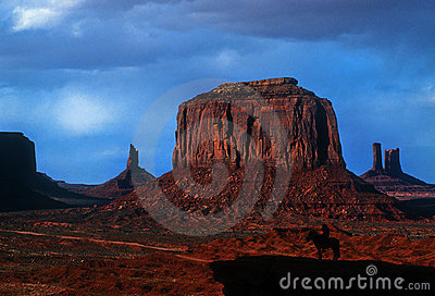 Monument Valley at Sunset, Arizona