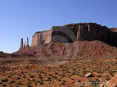 Monument Valley: Three Sisters