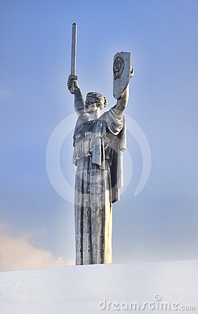 Monument of Victory in Kiev