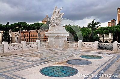 Monument of Vittorio Emmanuel, Rome