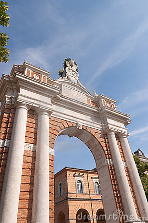 Monumental Arch dedicated to Pope Clement XIV