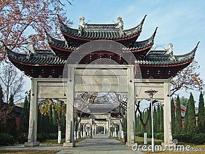 Monumental gateways