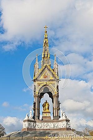 Monumento de Albert en Londres, Inglaterra