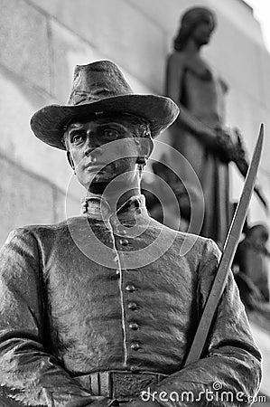 Monumento de Guillermo TECUMSEH Sherman, los E.E.U.U.