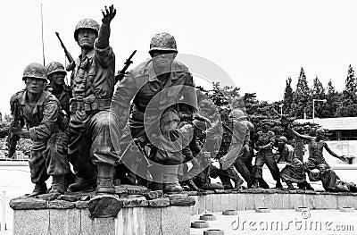 Monumento de la Guerra de Corea, Seul