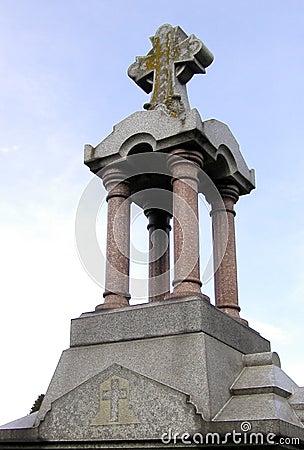 Monumento do cemitério