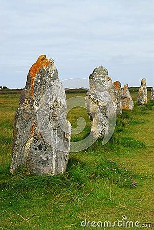 Monumentos megalíticos en Bretaña