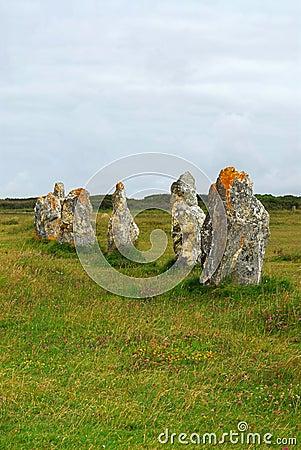 Monuments mégalithiques dans Brittany
