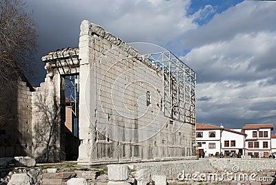 Monumentum Ancyranum - Augustus Temple