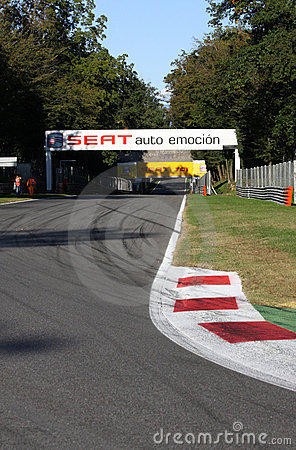 Monza runway Editorial Stock Photo