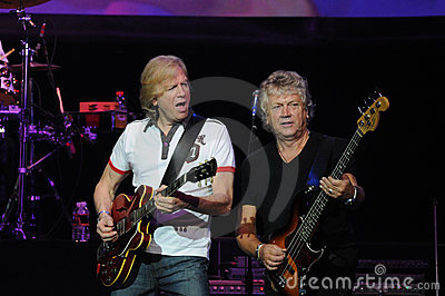 The Moody Blues Justin Hayward and John Lodge Editorial Stock Image