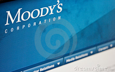Moody s ratings Editorial Stock Image
