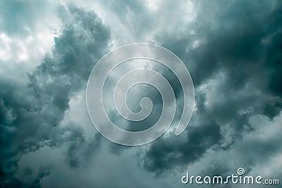Moody sky