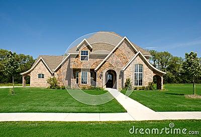 Mooi huis of huis royalty vrije stock afbeelding afbeelding 5825836 - Mooi huis ...
