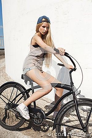 mooie fiets girls prive