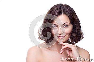 Mooie vrouw op middelbare leeftijd