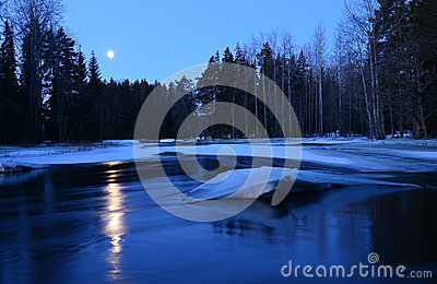 Moolight river