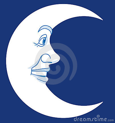 Moon Royalty Free Stock Photos - Image: 4629818