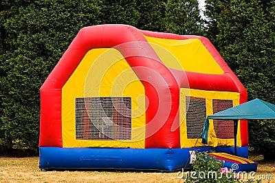 Moon bounce playhouse