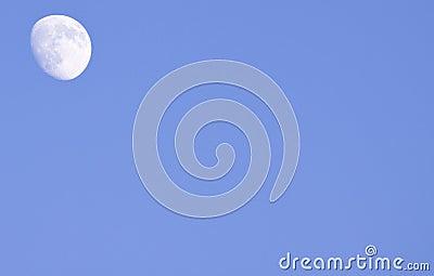 Moon by daylight